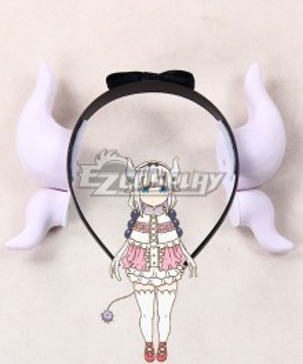 Miss Kobayashi's Dragon Maid Kanna Kamui Dragon Horns Headwear Cosplay Accessory Prop