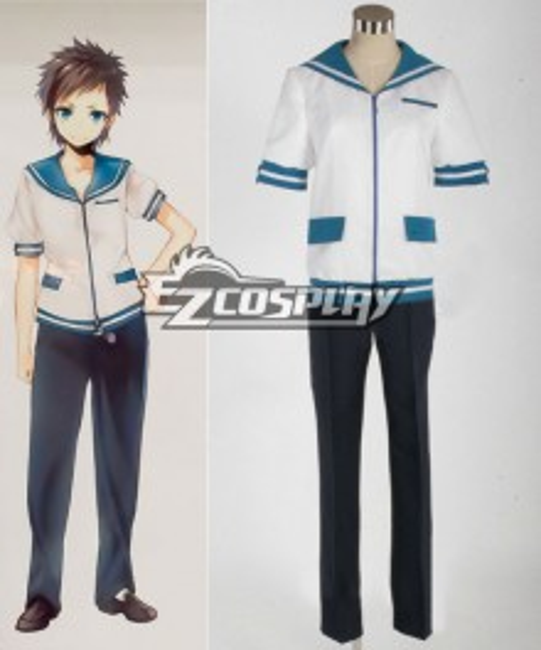 Nagi no Asukara Sakishima Hikari Cosplay Costume