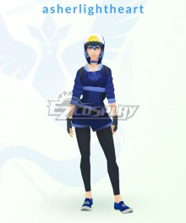 Pokémon GO Pokemon Pocket Monster Trainer Female Cosplay Costume - B Edition