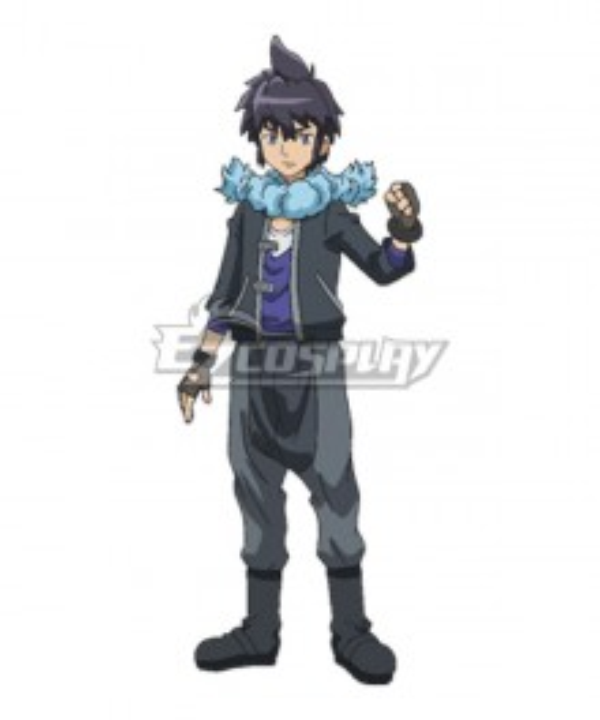 Pokémon XY Pokemon Pocket Monster Alain Cosplay Costume