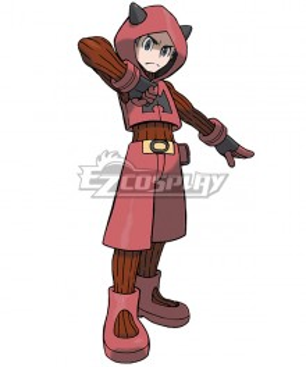 Pokémon Omega Ruby Pokemon Pocket Monster Team Magma Grunt Male Cosplay Costume