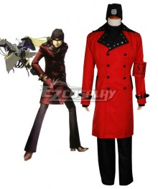 Persona 3 FES  Shinjiro Aragaki Cosplay Costume - Only Coat and Armband
