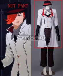 RWBY Roman Torchwick Female Version Cosplay Costume - NOT PANT