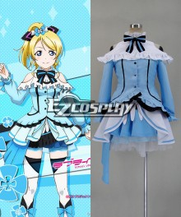 LoveLive 2 KiRa KiRa Sensation! Eli Ayase Cosplay Costume