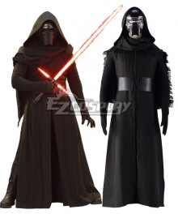 Star Wars VII: The Force Awakens Kylo Ren Black Cosplay Costume