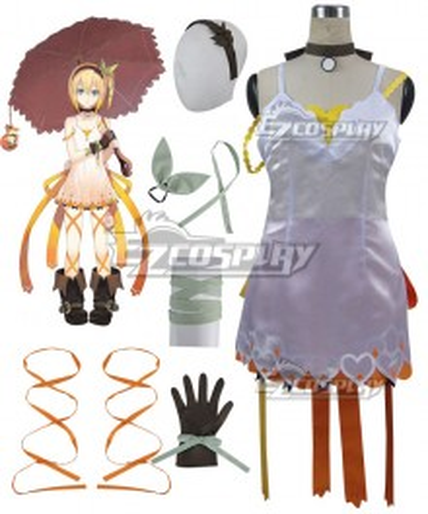 Tales of Zestiria the X Edna Cosplay Costume