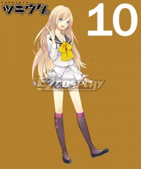 Tsukiuta. Reina Ichisaki Seleas October Uniform Cosplay Costume