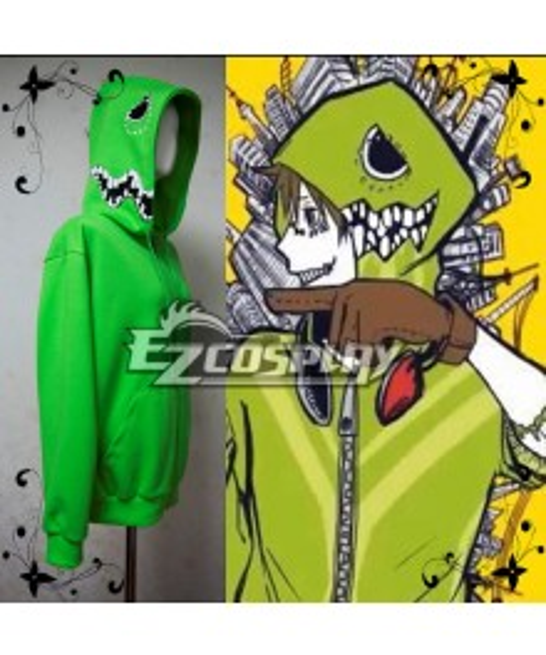 Vocaloid Matryoshka Hoodie Green worn by Hashiyan Cosplay Costume