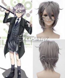 K Return Of Kings Sukuna Gojou Gray Cosplay Wig - A Edition