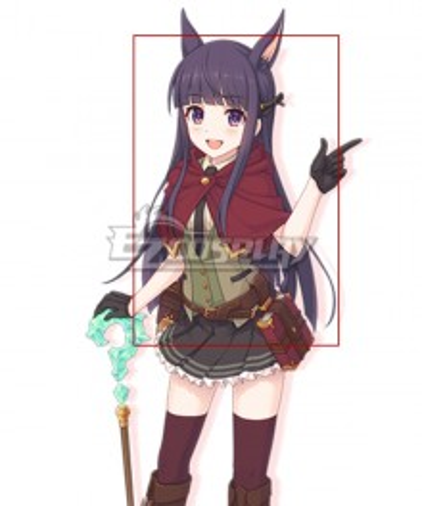 Princess Connect! Re:Dive Kasumi Kirihara Purple Cosplay Wig