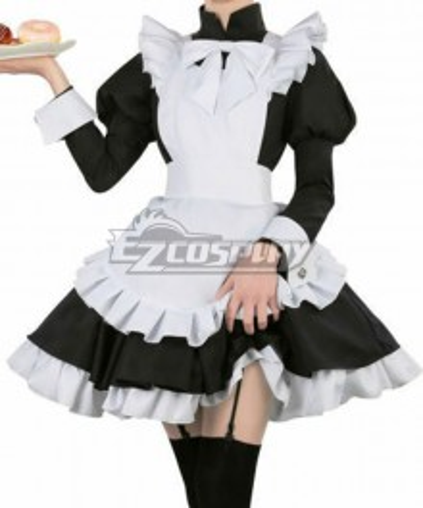 Fate Apocrypha FGO Astolfo Maid Servant Uniform Dress Cosplay Costume