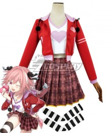 Fate Apocrypha Rider Of Black Astolfo Daily Cosplay Costume
