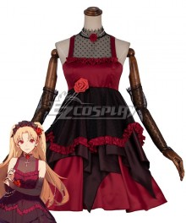 Fate Grand Order Ereshkigal Moon Girlfriend Outfit Cosplay Costume