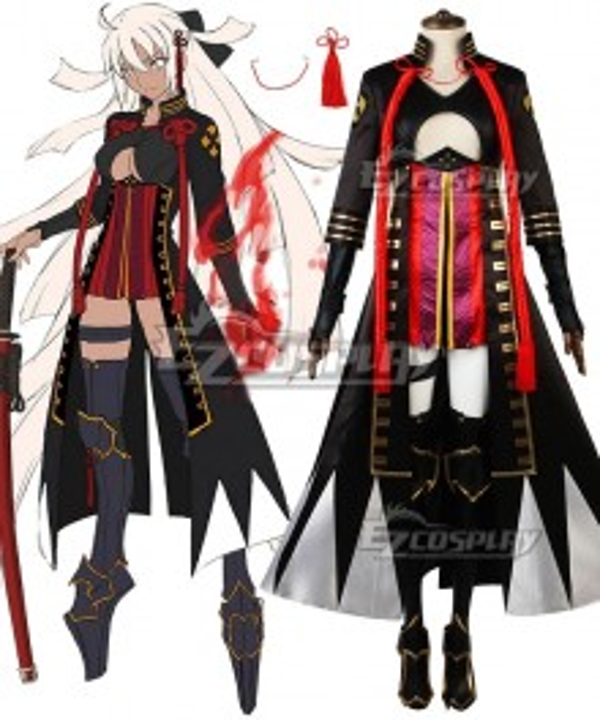 Fate Grand Order Fate KOHA-ACE Devil Alter Ego Saber Okita Souji Cosplay Costume