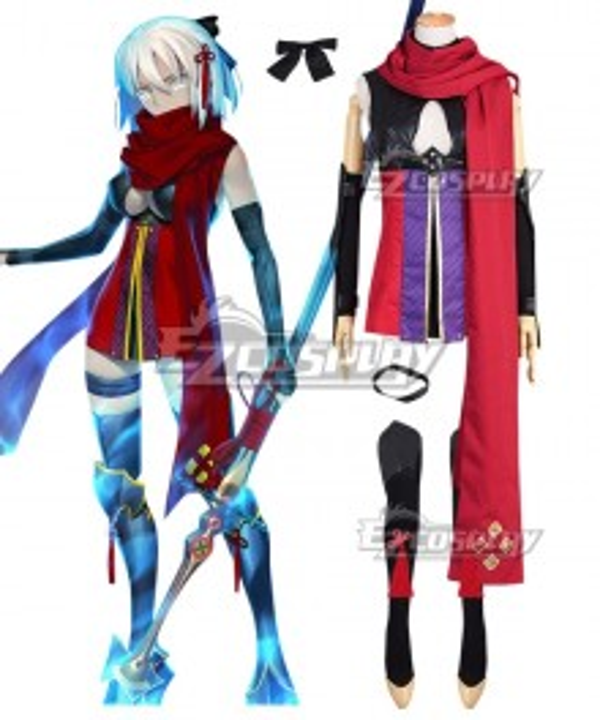 Fate Grand Order Fate/KOHA-ACE Alter Ego Okita Souji Stage 1 Cosplay Costume