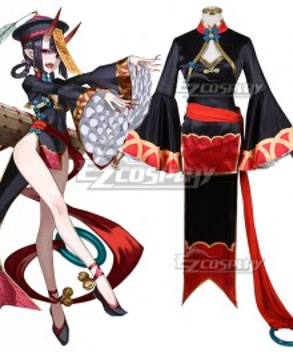 Fate Grand Order FGO FES 2019: Chaldea Park Assassin Shuten Douji Zombie Halloween Cosplay Costume
