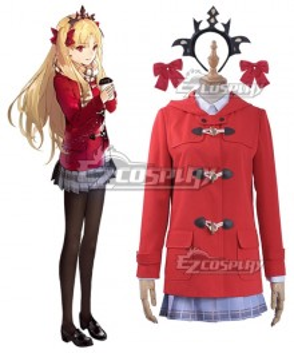 Fate Grand Order FGO Ninkigal Ereshkigal Daily Winter Uniform Cosplay Costume
