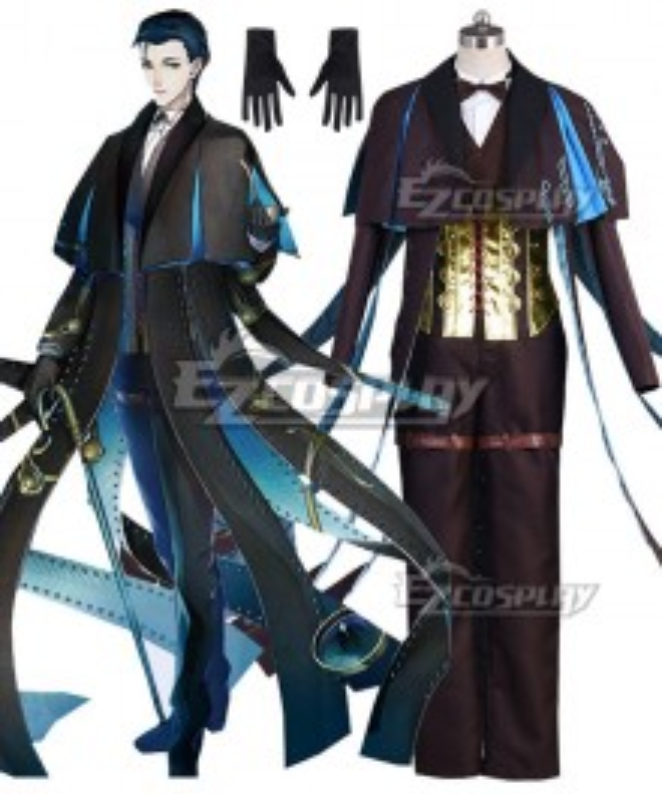 Fate Grand Order Ruler Sherlock Holmes Cosplay Costume