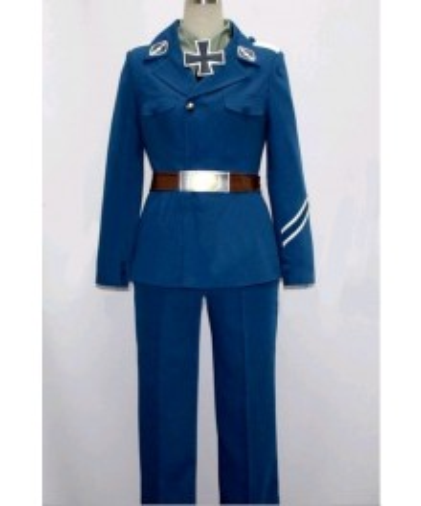 Gilbert Prussia Costume from Axis Powers Hetalia