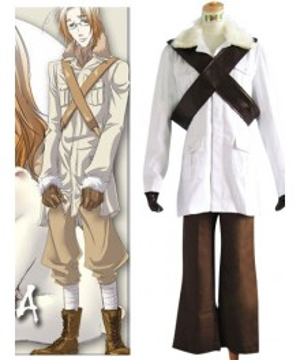 Canada Matthew Cosplay Costume Axis Powers Hetalia