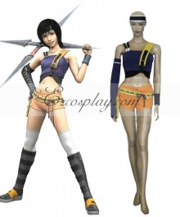Final Fantasy VII Yuffie Kisaragi Cosplay Costume - B Edition