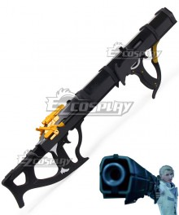 Final Fantasy VII Remake FF7 Rufus Shinra Gun Cosplay Weapon Prop