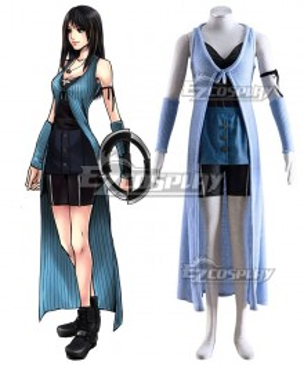 Final Fantasy VIII 8 Rinoa Battle Cosplay Costume