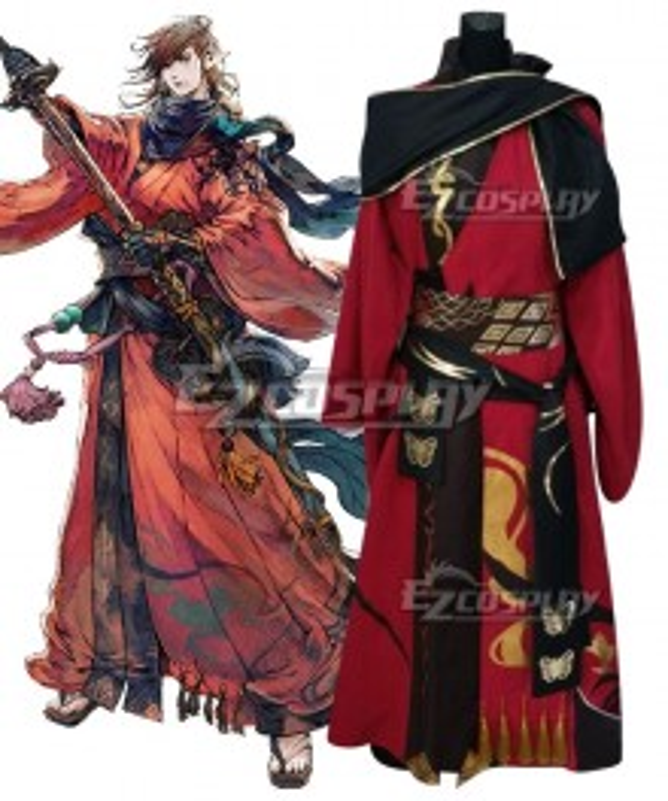 Final Fantasy XIV FF14 Samurai Cosplay Costume