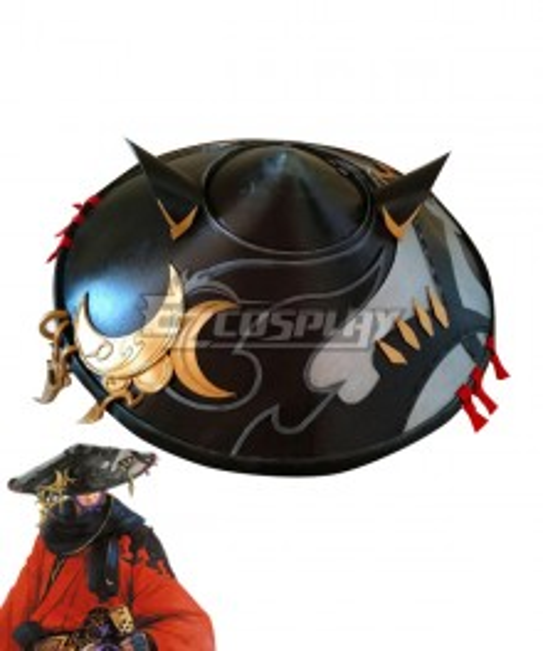 Final Fantasy XIV FF14 Samurai Hat Cosplay Accessory Prop