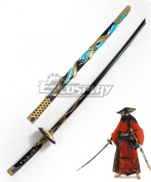 Final Fantasy XIV FF14 Samurai Sword Cosplay Weapon Prop