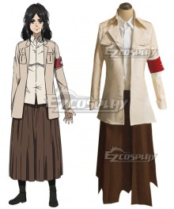 Attack On Titan Shingeki No Kyojin Final Season Pieck Finger Cosplay Costume