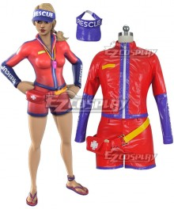 Fortnite Battle Royale Sun Strider Cosplay Costume