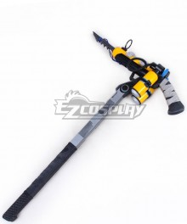 Fortnite Battle Royale Wreck Raider Skin Harpoon Axe Pickaxe Cosplay Weapon Prop