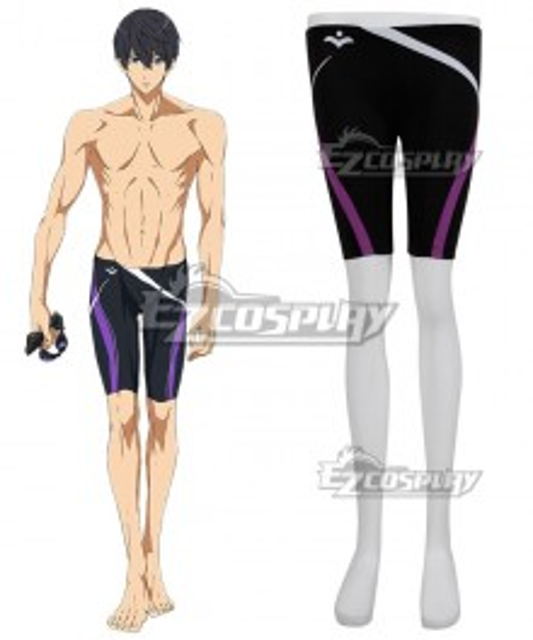Free!-Dive to the Future- Haruka Nanase Swimming Trunks Cosplay Costume