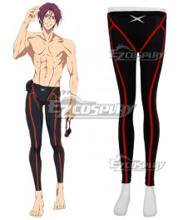 Free!-Dive to the Future- Rin Matsuoka Swimming Trunks Cosplay Costume