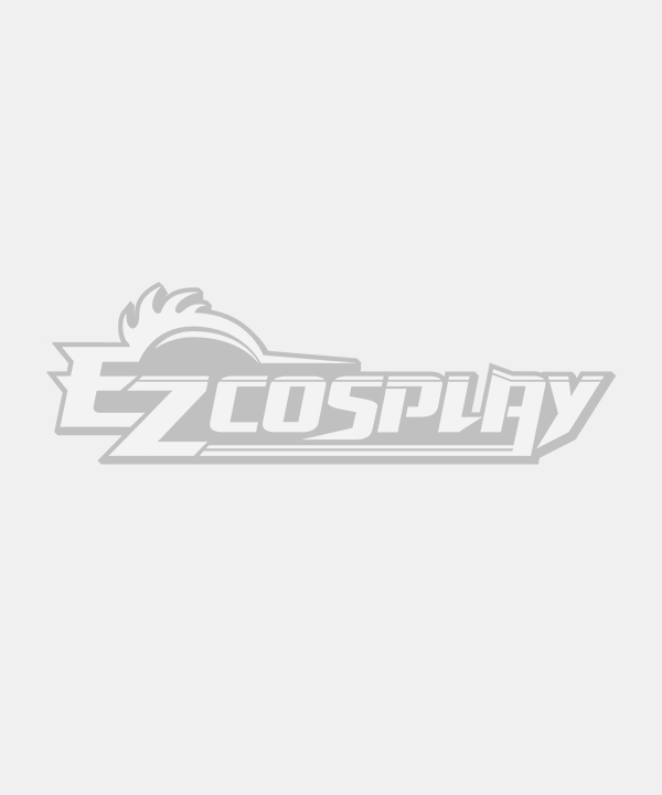 General Multicolor 100cm Long Straight Hair Middle Part Cosplay Wig