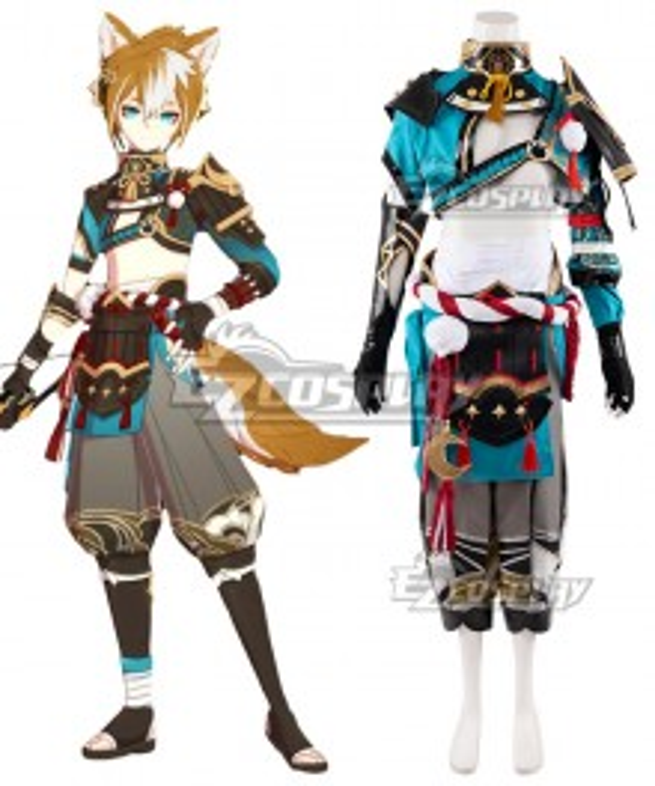 Genshin Impact Gorou Cosplay Costume