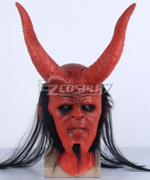 Hellboy Anung Un Rama Halloween Mask Cosplay Accessory Prop