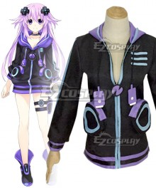 Hyperdimension Neptunia Neptune Cosplay Costume - Only Coat