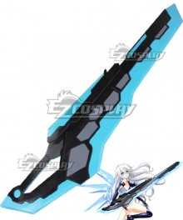 Hyperdimension Neptunia Noire Hyper Dimension Black Heart Cosplay Weapon Prop
