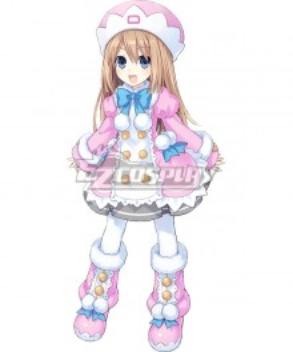 Hyperdimension Neptunia Ram Cosplay Costume