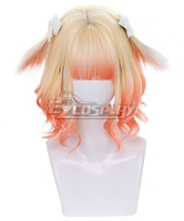 Japan Harajuku Lolita Series Miketea Bunney Golden Orange Cosplay Wig