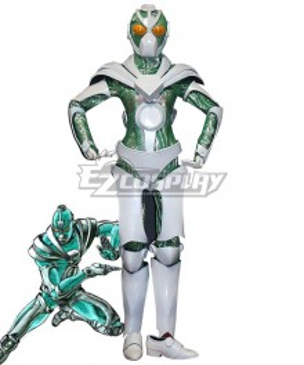 Jojo'S Bizarre Adventure: Stardust Crusaders Hierophant Green Noriaki Kakyoin Cosplay Costume