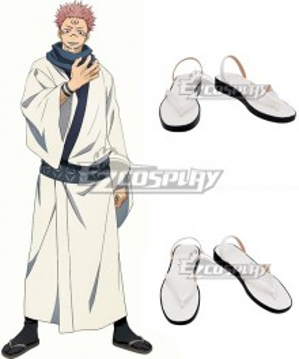 Jujutsu Kaisen Sorcery Fight Sukuna Ryomen Yellow Cosplay Shoes