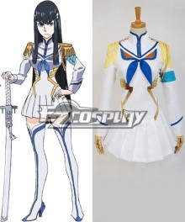 Kill la Kill Ryuko Satsuki Kiryuin Unifrom Cosplay Costume