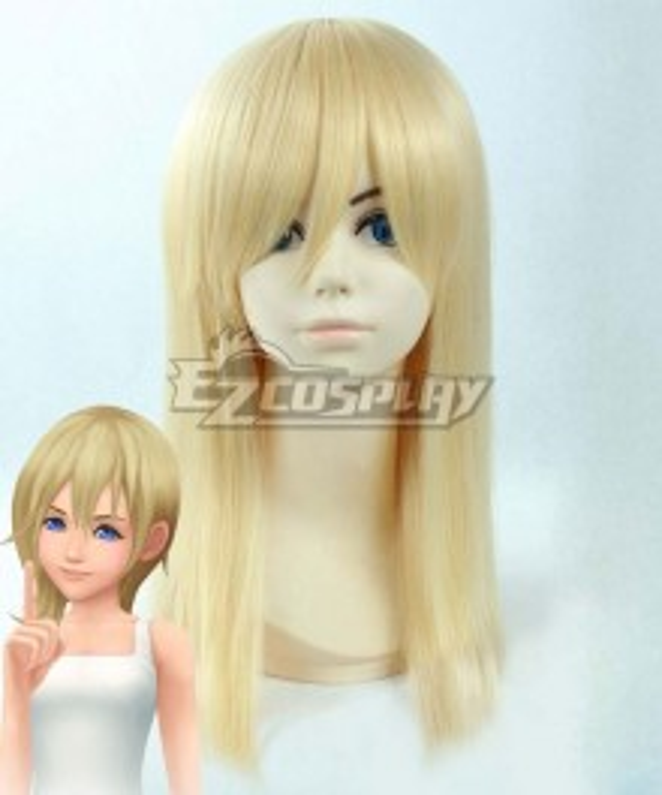Kingdom Hearts III Kingdom Hearts 3 Namine Golden Cosplay Wig