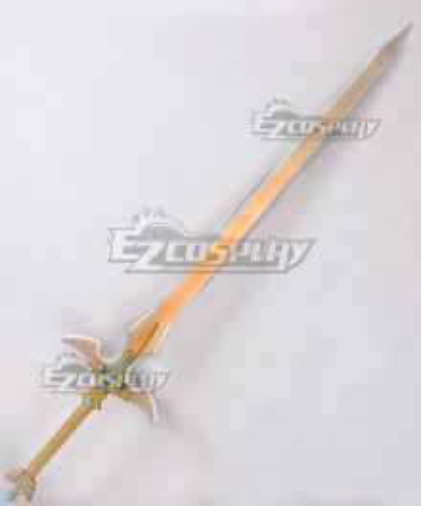 Sword Art Online ALfheim Online SAO ALO Kirigaya Kazuto Kirito Excalibur Sword Animated Version Cosplay Weapon