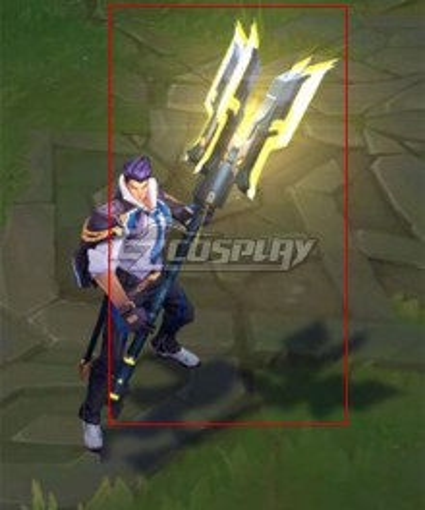 League of Legends LOL Battle Academia Jayce Cosplay Weapon Prop