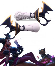 League of Legends LOL Bewitching Miss Fortune Double Guns Cosplay Weapon Prop