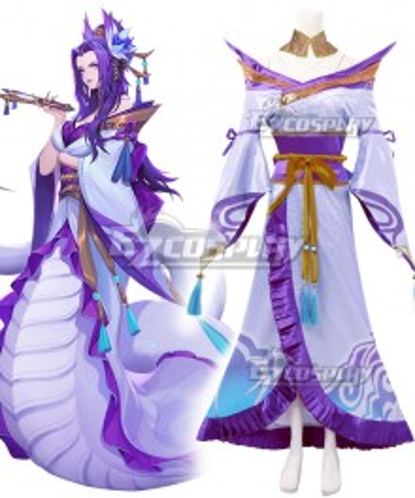 League of Legends LOL Spirit Blossom Cassiopeia Cosplay Costume